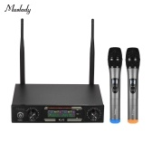 Muslady KLV3 VHF Wireless Microphones Set