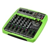 Muslady B6-MX Portable 6-Channel Sound Card Mixing Console Audio Mixer