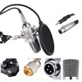 Professional Broadcasting Studio Recording Condenser Microphone Mic Kit