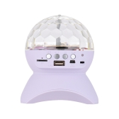 Mini Crystal Ball Wireless Bluetooth Speaker Music Player for iPhone iPad Smartphone MP3 Music Playing