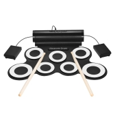 Portable Digital Stereo E-Drum Set