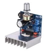 ステレオ2.0オーディオアンプモジュール35W + 35Wデュアルチャンネルミニアンプボード増幅DIYサーキットボードヒートシンク付き
