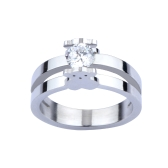 Cute Little Bear Ring Embeds CZ Diamond 316L Titanium Steel Fashionable Women Jewelry Decorations
