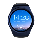 "Cartão LEMFO BT4.0 inteligente Watch Phone 2G GSM Mini SIM 128MB 1,39"" ROM de tela + 64MB RAM pedômetro Heart Rate Monitor Smartwatch para Android 4.4 e IOS 7.0"