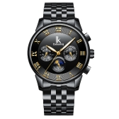 IKCourouringファッションビジネス自動メンズウォッチ1ATMの生活防水ルミナスメカニカルマン腕時計カレンダームーンフェイズ