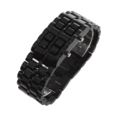 Plastic Digital Lava Wrist Watch