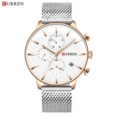 CURREN 8339 Men Quartz Watch