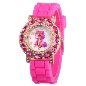 Animal Dial Palte Cute Design Wrist Watch