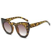Nowe mody kobiet akcesoria okrągłe okulary Cat Eye wysokiej jakości euroamerykańskiej popularne okulary ramki