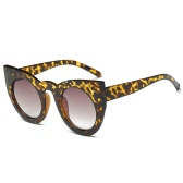 New Fashion Women Accessory Round Cat Eye Sunglasses High Quality Euramerican Popular Frame Glasses