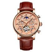 KINYUED Luxury Diamond automatische mechanische Uhr