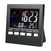 LCD Clock Thermometer Indoor Clock