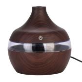 300 ml Aroma Diffusor USB Luftbefeuchter Kreative Wasser Typ Holz Mini Stumm Ätherisches Öl Aromatherapie Maschine für Home Office