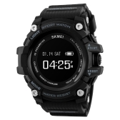 SKMEI BT4.0 Smart Sports Watch 3ATM Water-Proof Smart Wrist Band Pedometer Heart Rate/Sleep Monitor Alarm Stopwatch Reminders Compatible IOS 7.0 & Android 4.3 or Above