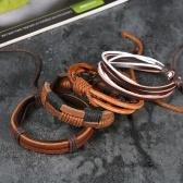 Браслет ювелирных изделий способа Unisex Braidedlet браслет ретро кожаный браслет 1 #
