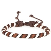 Fashion Jewelry Bracelet Unisex Braided Bracelet Retro Leather Bracelets 1#