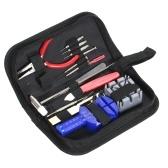 16pcs Kit de réparation de montres professionnel complet