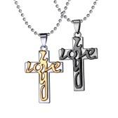 Klasyczna Miłość Krzyż Koralikowa Koralikowa Kolczyki Z Kolczykami na Dzień Miłości