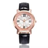 Moda Simples Relógio Fluindo Grânulos de Quartzo Relógio de Pulso Estilo Casual para Mulheres Estudantes