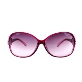 Neue Damenmode Sonnenbrillen Jade Texture Gradient Sun Glasses