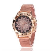 Elegant Women Crystal Quartz Wrist Watches