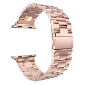 Fashion Luxury Stainless Steel Watch Band for iwatch Series 38mm / 42mm Watch Strap Bracelet Replacement Band for Apple Watch Series