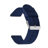 Colored Nylon Watchband Quick Release Watch Straps Replace Wrist Straps for Intelligent Watch Screwless Wristbands