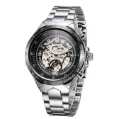 WINNER Self-Winding Skeleton with Big Dial Automatic Mechanical Watch for Men