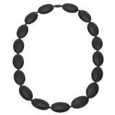 Grade alimentaire 100 % Silicone dentition Collier perles Soft pour Chew bébé enfant jouets bijoux pour maman à porter BPA libre EN71 F963 FDA certificat de soins infirmiers
