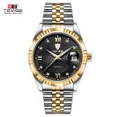 TEVISE Top Brand Men Fashion Luxury Wodoodporny zegarek Automatic Mechanical Watch Biznes męskie zegarki