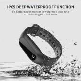 SKMEI BT4.0 Water-Proof-Screen-OLED-Smart-Sport-Armband-Uhr-Puls / Blutdruck / Schlaf-Monitor Pedometer Kalorie Fitness Armbanduhr für IOS und Android Alarm Entfernung Anti-Verlorene + Watch