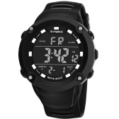 SYNOKE Reloj Deportivo Masculino LED Electrónico Relojes Digitales Reloj de alarma Alarma Luminosa Resistente Al Agua Para Hombres Reloj
