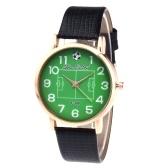 Relógio de pulso de couro luxuoso de quartzo dos relógios da forma F-388 para o campeonato do mundo de FIFA