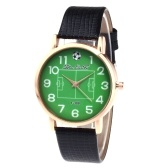 F-388 Mode Uhren Quarz Luxus Leder Armbanduhr für FIFA WM