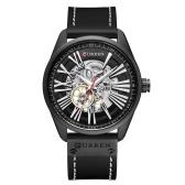 CURREN 8299 Men Watch Brand Mechanical Tourbillon Watch Wristwatch