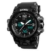 SKMEI 1155B Quartzo Digital Eletrônico Men Watch
