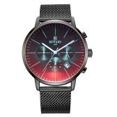En acier inoxydable de montre-bracelet extérieur imperméable de montres de sport d'hommes de récompense