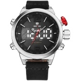 WEIDE WH6101 Dual Display Two Movement Quartz Digtal Men Watch