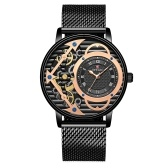 Fashion Skeleton  Mechanical Watch