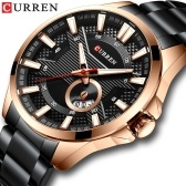 Curren Watch Fashion Men Business Kalender Leuchtzeiger Quarzuhr