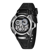 SYNOKE 9034 Kids Stylish Sport Watch Multifunctional Digital Wristwatch with LED Luminous/Alarm/Life Waterproof/Stopwatch/Hourly Chime/Week and Date Display Children Electronic Watch for Boys Girls