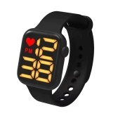 XR4563 Multifunctional LED-Electronic Women Men Wristwatch 50M Waterproof Stylish Sport Watch for Students Luminous/Month Date Display/24-hour Clock/Long Endurance
