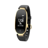 """Woman Smart Wristband 0.96"""" Touch Screen BT 4.0 Sleep / Heart Rate Monitor Pedometer Smart Brecelet Fitness Tracker for Android 4.3 & IOS 8.0 or Above"""