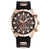 MINI FOCUS Fashion Luminous Quartz Man Watch Water-Proof Silicone Band Men Relógio de pulso casual Chrono Sports Style + Box