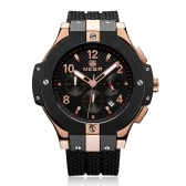 MEGIR Chronograph Sport Watch Men Zegarek kwarcowy zegar silikonowy zegarek Army Military Wrist Watch