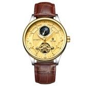 Mechaniczny zegarek TEVISE Automatic Men Luminous Waterproof Sport Zegarek biznesowy męski