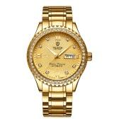TEVISE T807B Armbanduhr Männer Markenuhr Semi-automatische mechanische Mode Luxus wasserdichte Uhr Leucht Business Casual Uhr