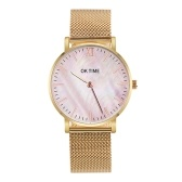 Relógio slim simples para mulheres