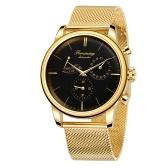 Montre mécanique automatique pour hommes, affichage de la date, montre-bracelet décontractée pour hommes