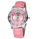 Vindima alta qualidade moda quartzo relógio Bling-bling Rhinestone incorporado mulheres elegante relógio